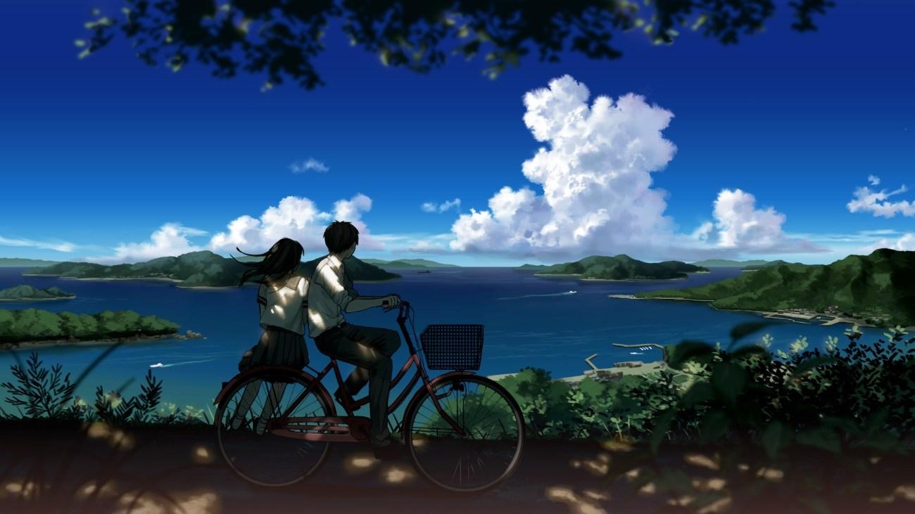 蓝色的天空和我们